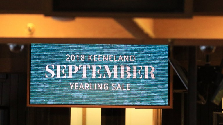 Nearly $350 million has been turned over at Keeneland with five sessions to go