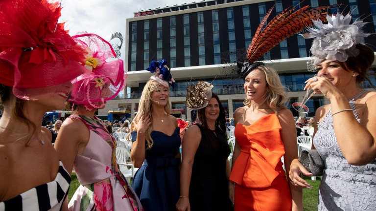 Fashion frenzy: racegoers are dressed to impress on ladies' day