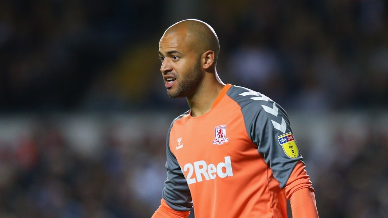 Middlesbrough's Darren Randolph is difficult to beat