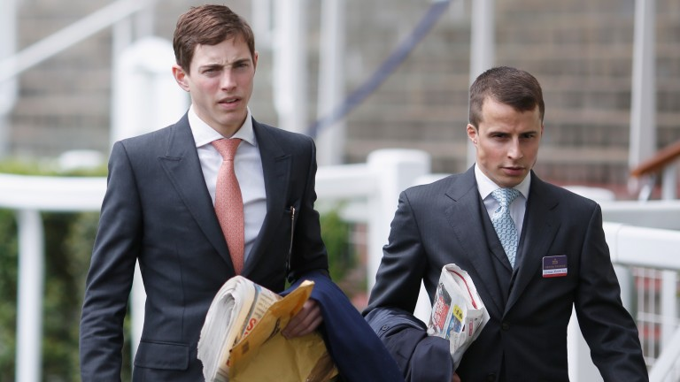 James Doyle and William Buick praised outgoing agent Michael Haggas
