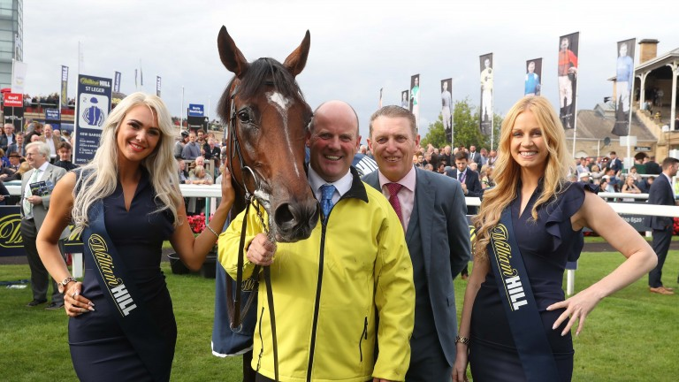 Kew Gardens after winning the St Leger at Doncaster