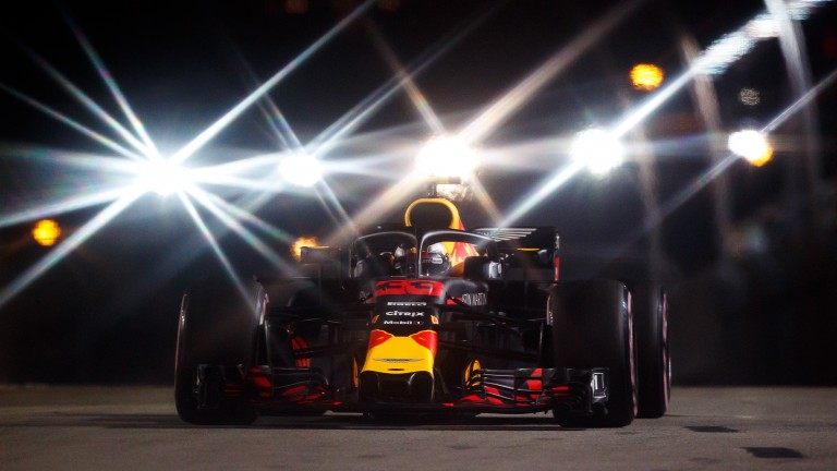 Max Verstappen can shine under the lights in Singapore