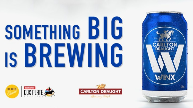 Carlton Draught beer: a can with a difference in honour of Winx