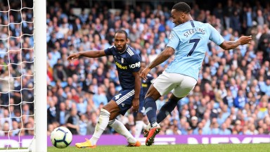 Raheem Sterling has flourished under Pep Guardiola at Manchester City