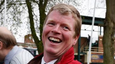 John Gallagher: trainer of Cruel Clever Cat, winner of the 7f handicap