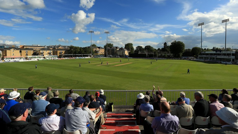 Essex in action at the Ford County Ground in Chelmsford