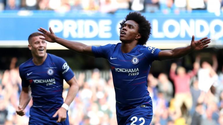 Chelsea forward Willian