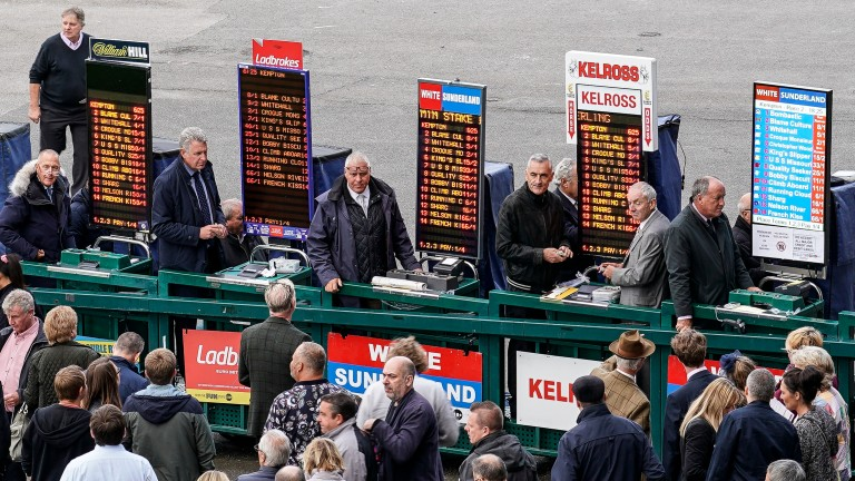 Internet gambling has had a detrimental effect on the traditional betting ring