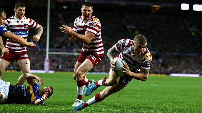 Dominic Manfredi marked his return from injury with two tries against Warrington