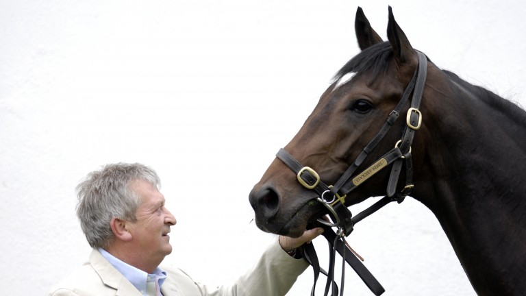 Cockney Rebel with Geoff Huffer, the man who sent him out to win two Classics