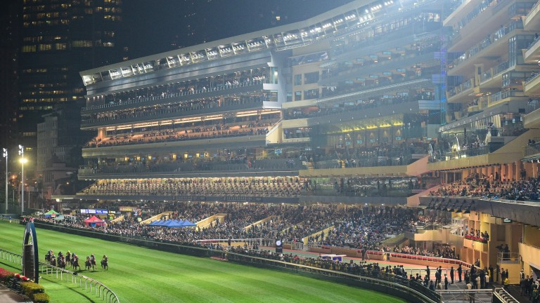 Happy Valley: hosts an eight-race on Wednesday