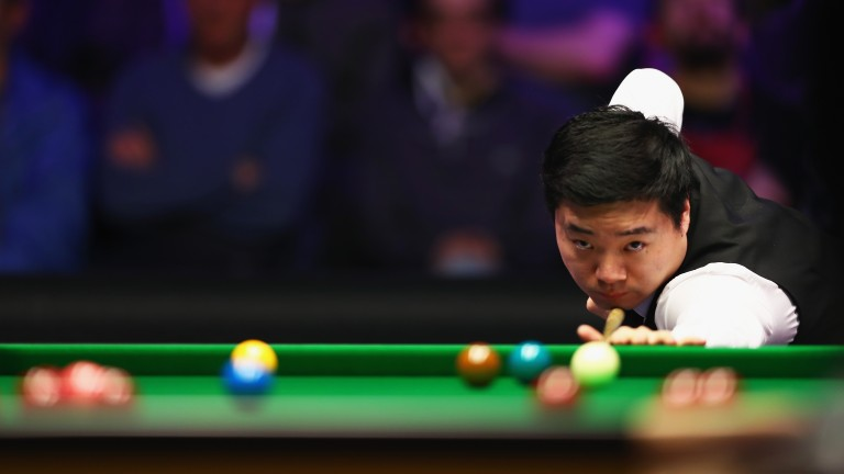 Ding Junhui could be a major player in Guangzhou this week
