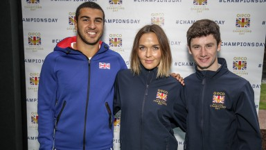 Sprinter Adam Gemili, dual Olympic gold medallist Victoria Pendleton and Group 1-winning rider Oisin Murphy