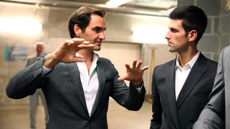 Roger Federer tells Novak Djokovic how he wants it played in Chicago