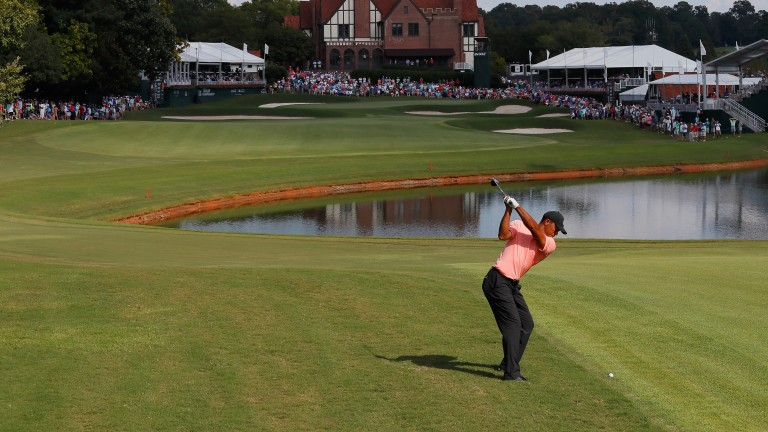 Tiger Woods leads the way at East Lake