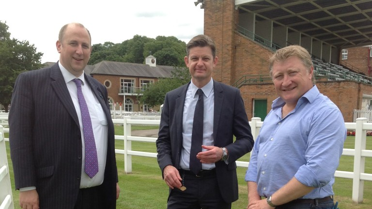 Brant Dunshea (centre): British trainers have been told to remove Regumate from all licensed premises