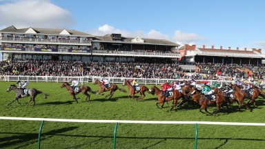 William Hill Ayr Gold Cup: Lucky Lucky Man is in command