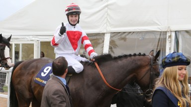 Oisin Murphy, then 19, on 2013 Ayr Gold Cup winner Highland Colori