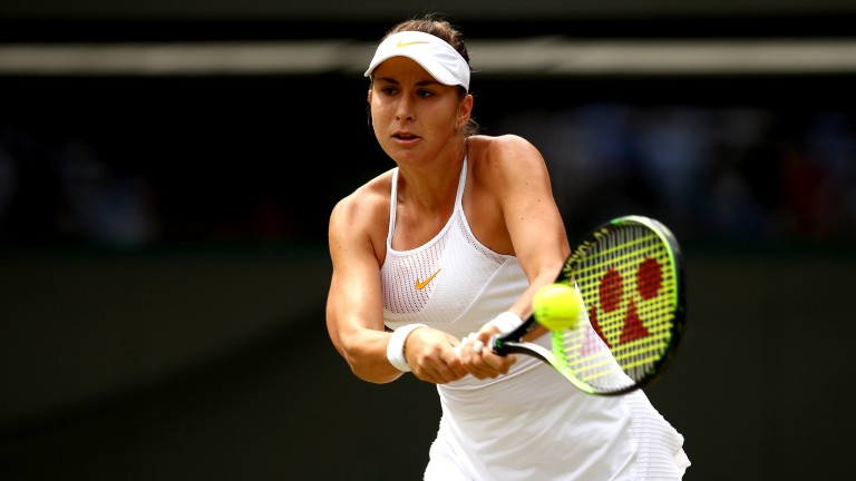 Belinda Bencic could cause an upset in Wuhan