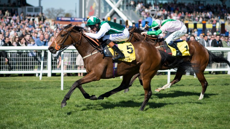 Maureen wins the Fred Darling Stakes