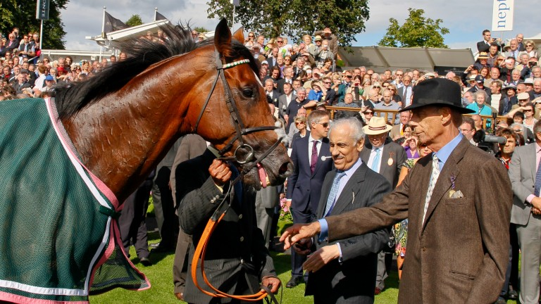 Sir Henry Cecil: came back from illness and enjoyed monumental success with Frankel