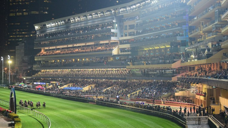 Happy Valley: stages an eight-race card on Wednesday
