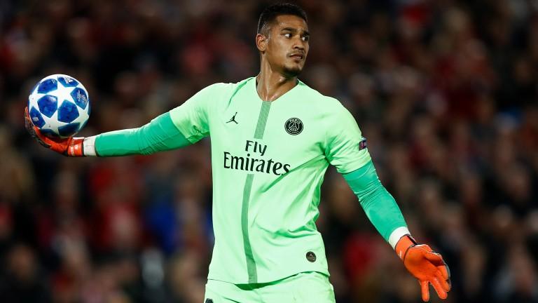 PSG goalkeeper Alphonse Areola