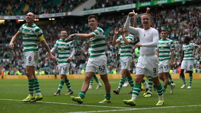 Celtic will be hoping for more to smile about