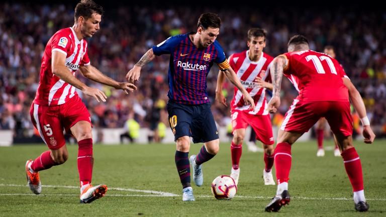 Girona take on Lionel Messi