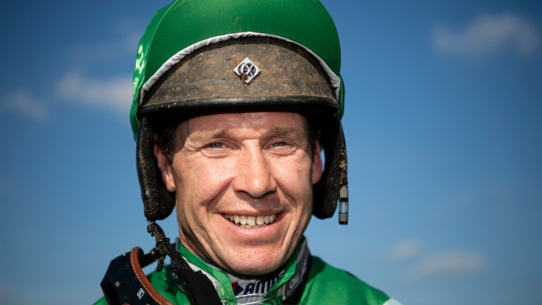 Richard Johnson: landed his 3,500th winner at Warwick on Tuesday