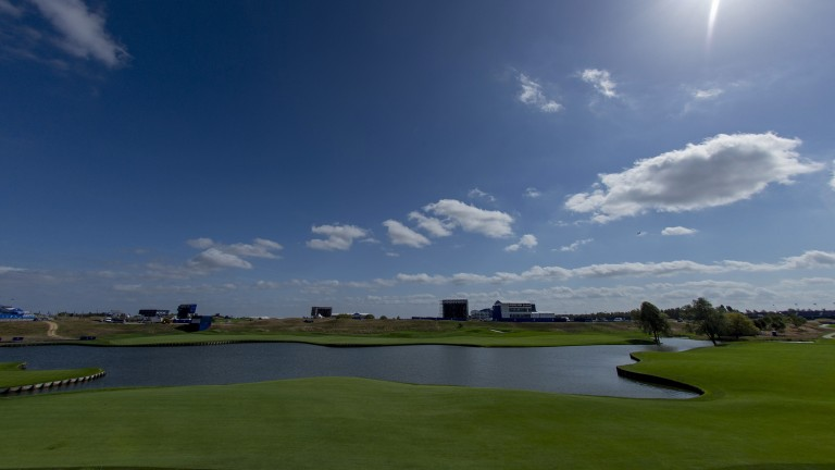 Le Golf National hosts the Ryder Cup