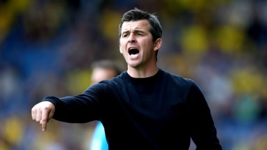 Fleetwood manager Joey Barton