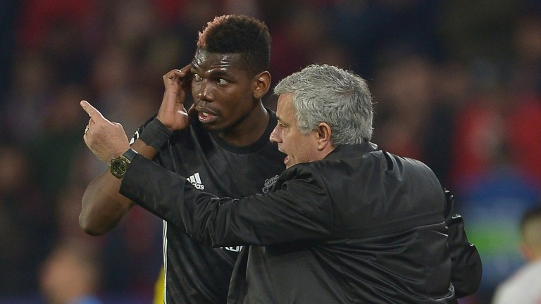 The conflict between Paul Pogba and Jose Mourinho spells trouble for Manchester United