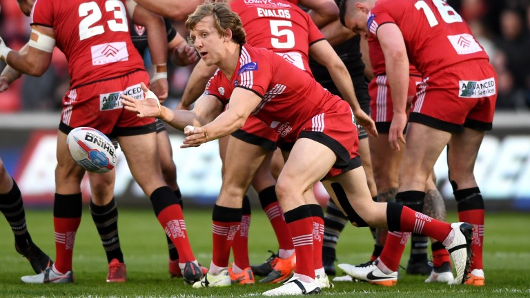 Logan Tomkins can help Salford to a comfortable win over Toulouse