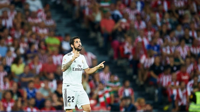 Real Madrid must make do without Isco for the next month