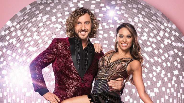 Seann Walsh and Katya Jones face a jive in week two