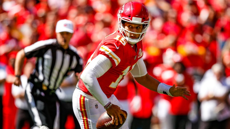 Patrick Mahomes has been in sensational form for Kansas City