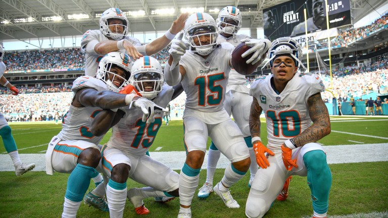 The Dolphins offence have had plenty to celebrate so far