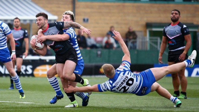 London Broncos beat Halifax 36-14 last year