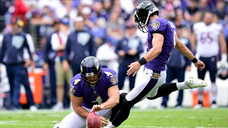 Baltimore's kicker Justin Tucker could be the difference maker