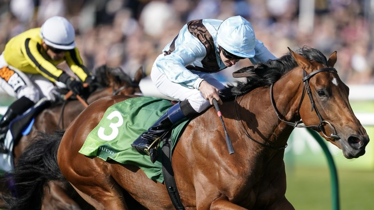 Fairyland shows plenty of guts to grind out victory in the Cheveley Park Stakes