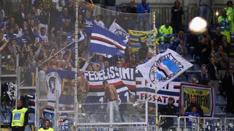 Sampdoria fans might have to make their own entertainment