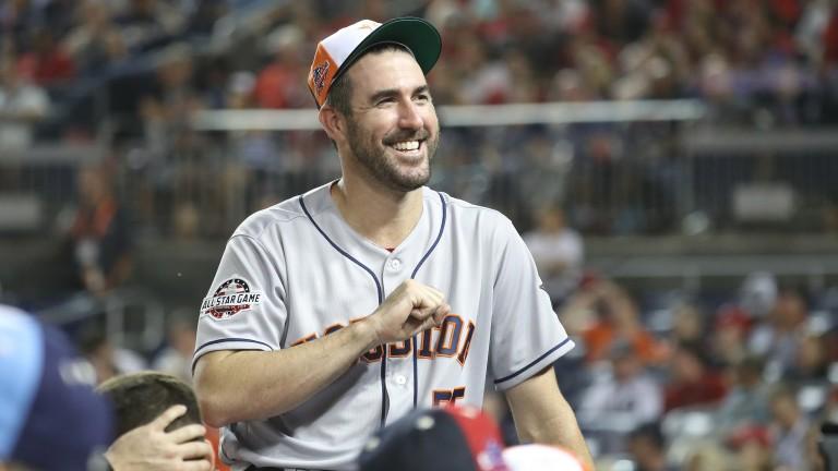 Justin Verlander is a superb pitcher for the Houston Astros