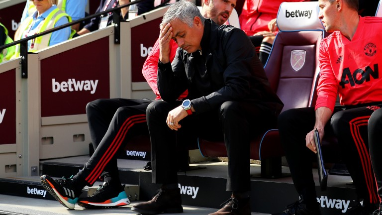 Confidence in Jose Mourinho's long-term prospects is evaporating