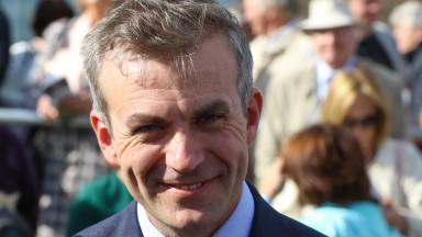 Patrick Prendergast, trainer of Moyglare Stud Stakes winner Skitter Scatter, is 44 today