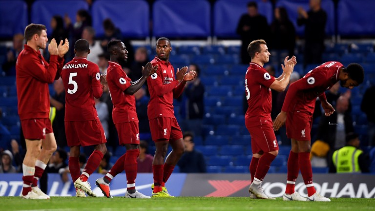A draw at Chelsea on Saturday ended Liverpool's 100 per cent start to the season