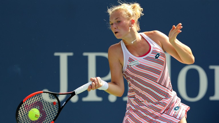 Katerina Siniakova is improving nicely and could trouble Kiki Bertens