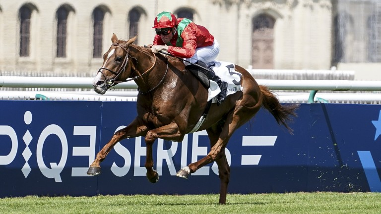 Waldgiest: ran out a comfortable winner of the Prix Foy