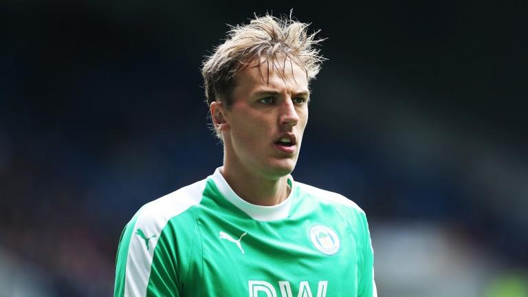 Wigan goalkeeper Christian Walton