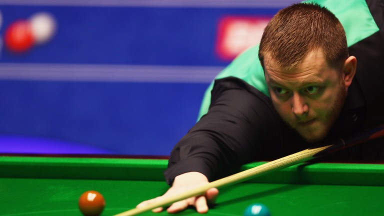 Mark Allen could be made to toil in his last-16 outing in Belgium